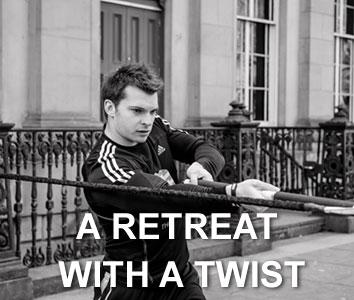 A retreat with a twist